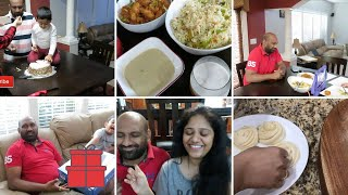 HUSBAND'S BIRTHDAY CELEBRATION DURING LOCKDOWN||COUPLE CHALLENGE||WHAT DID I GIFT HIM
