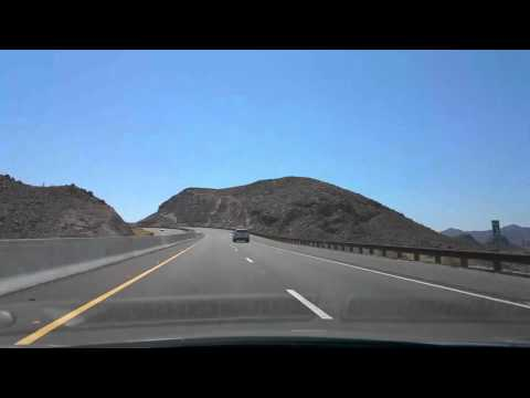 2015-08-24 From Las Vegas NV To Grand Canyon West Rim AZ 16x Timelapse