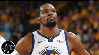 What Kevin Durant opting out means for his future | The Jump