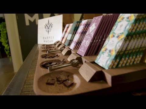 How Harper Macaw Transports Chocolate Lovers to the Rainforest Through Packaging