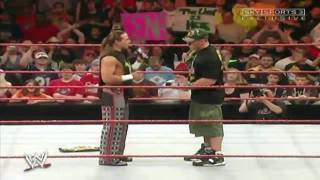 HBK & Cena The Night After WrestleMania 23