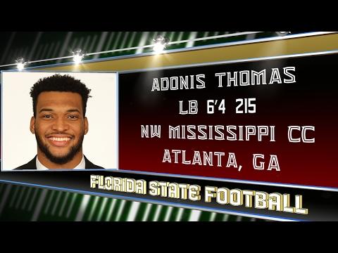 2017 Signing Day: Adonis Thomas