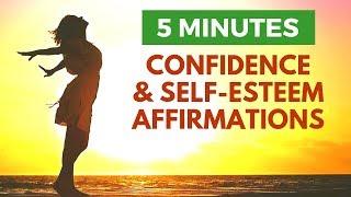 Confidence & Self-Esteem: 5 Minute Morning Affirmations   21 Days