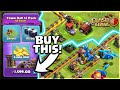 LET'S BUY THE TH12 PACK! USING SEIGE MACHINE, ELECTRO DRAGON GAMEPLAY CLASH OF CLANS•FUTURE T18