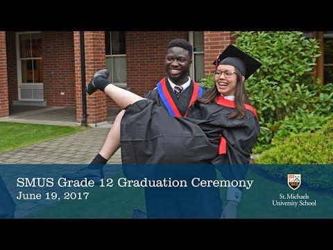 SMUS Grade 12 Graduation Ceremony 2017