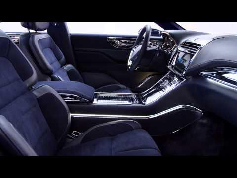2015 Lincoln Continental concept interior b-roll video - YouTube