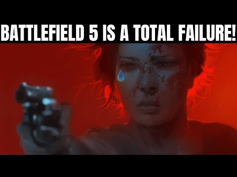 Battlefield 5 Flops Hard With Weak Sales | How EA and DICE Completely Destroyed This Game thumbnail