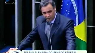 Aécio Neves responde Lindberg Farias do PT