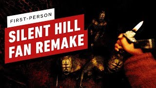First-Person Silent Hill Fan Remake Gameplay