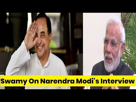 'Bail For Fraud' Vs 'Suit Boot' Narendra Modi interview Highlights | Debate | Subramanian Swamy