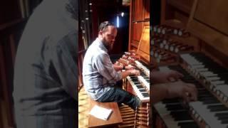 Fisk Organ in Caruth Hall at SMU Dallas TX.