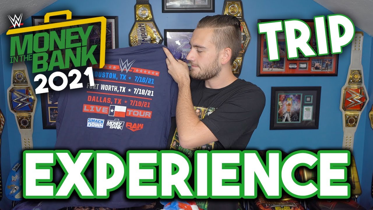 My WWE Money In The Bank 2021 Trip Experience