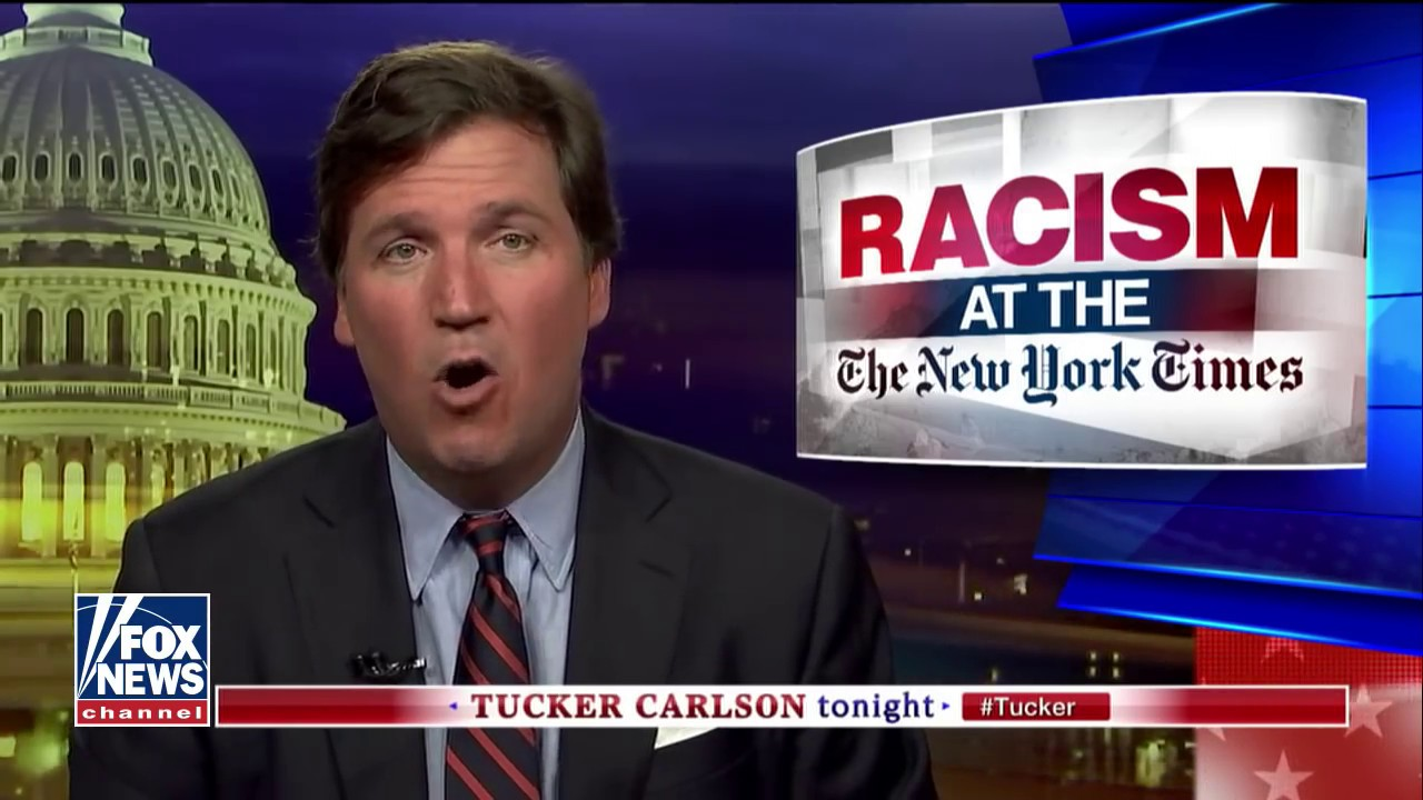Tucker: Left thinks racism against white people impossible