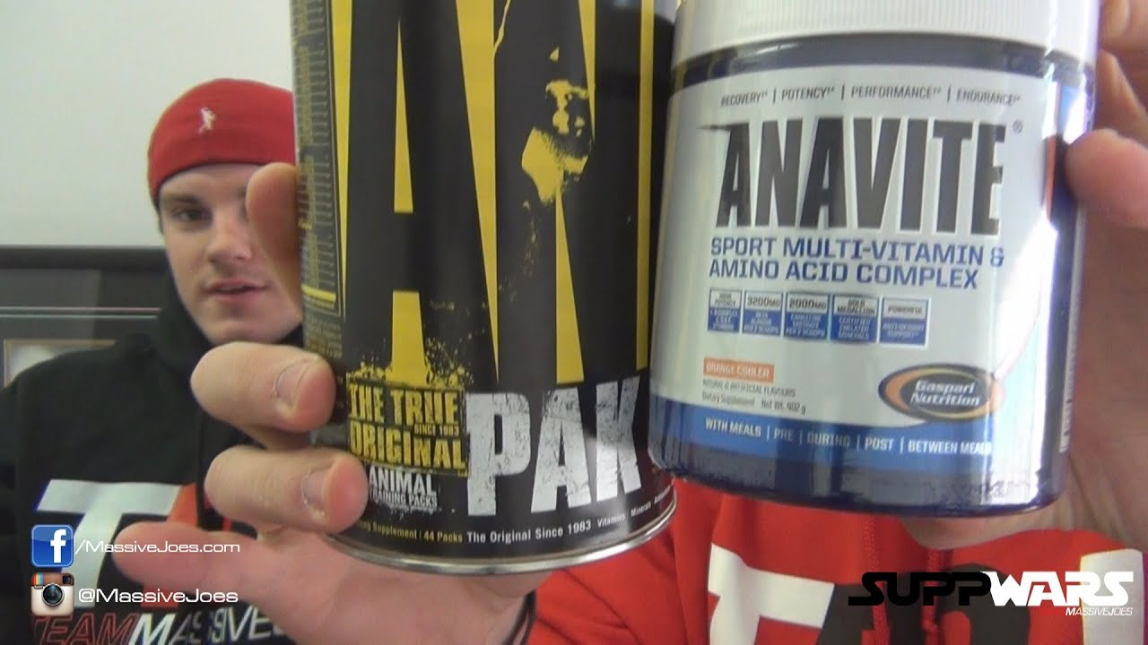 Anavite vs animal pak