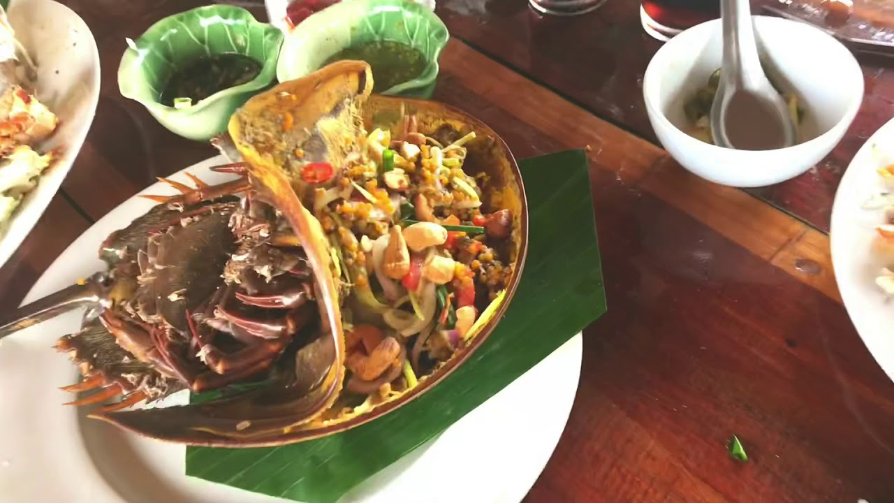 Krabi Halal Food Trip Local Night Market And Totally Unseen Local Muslim Village In Krabi Youtube