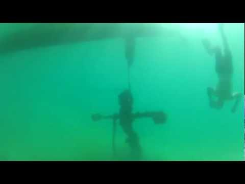 Adventure sailing FlatChat bay of islands  anchor salvage