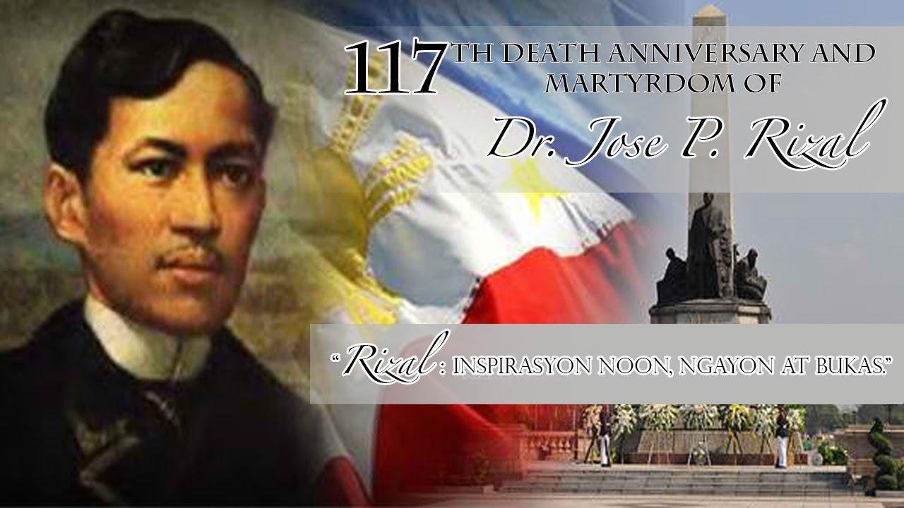 Dr. Jose Rizal Writing
