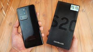 "Samsung Galaxy S20 Ultra 5G ""ALL BLACK"" UNBOXING! - Worth it vs S20 & S20 Plus?"