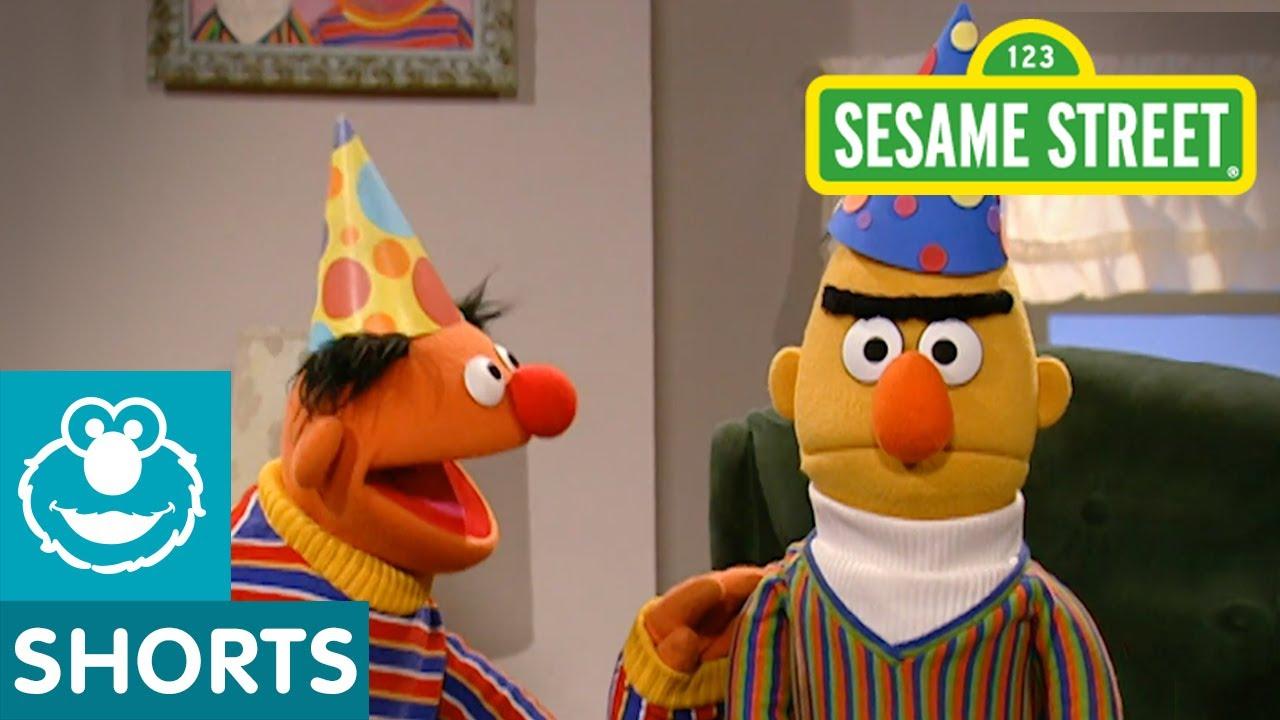 Bert And Earnie Birthday Cake