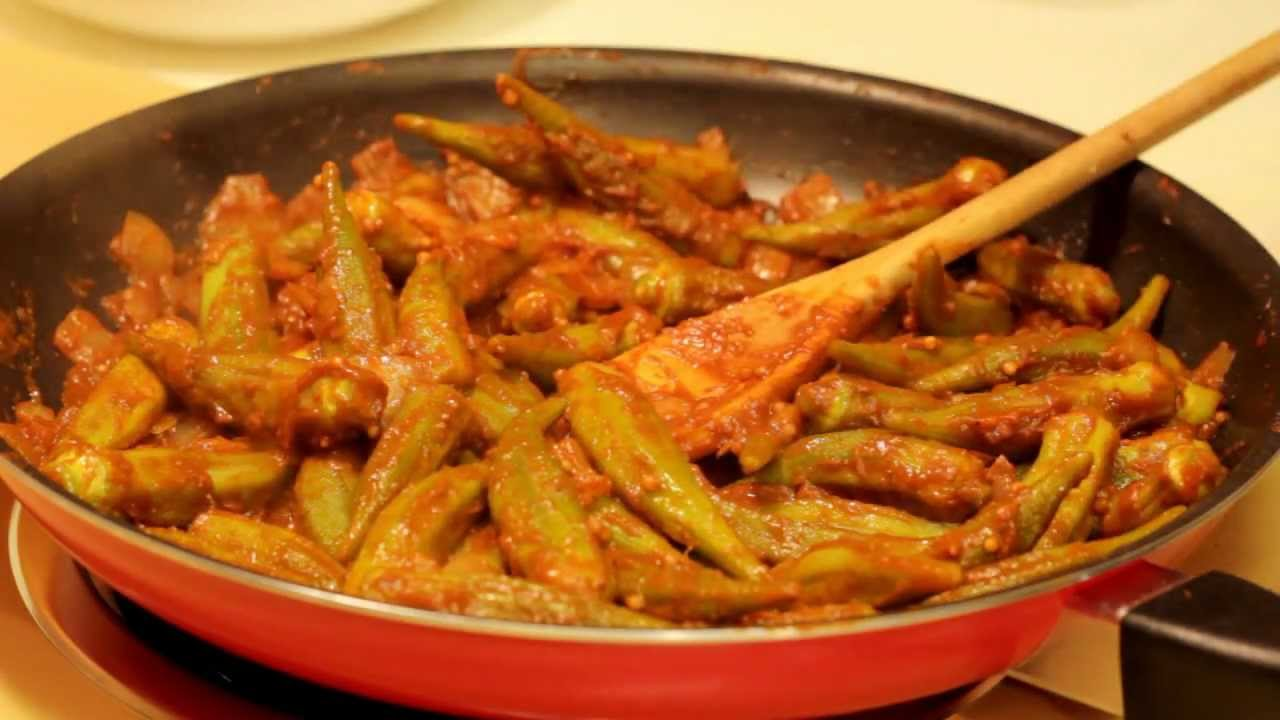 Easy Okra Recipe Youtube