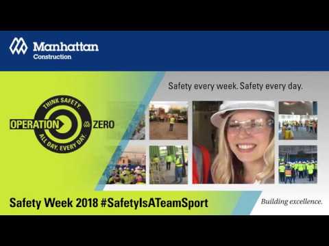 Manhattan Construction Company Safety Week 2018