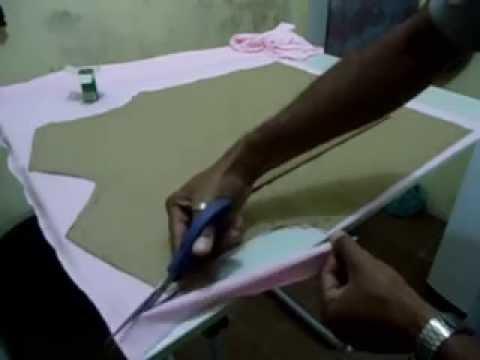 0a7e3de810 DIY  Camisa Polo Part1 (malha piquet) - YouTube