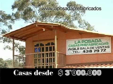 La posada casas prefabricadas youtube - Bungalows de madera prefabricadas precios ...