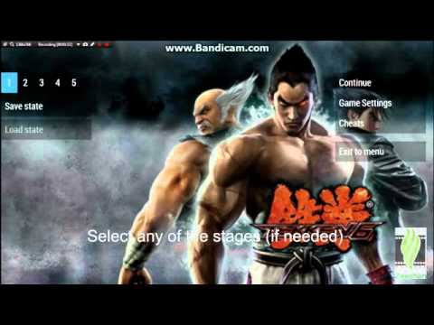 Play As Azazel And Nancy Tekken 6 Ppsspp Youtube