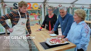 Bon appétit! James Acaster serves up pure genius! | The Great Stand Up To Cancer Bake Off
