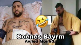 Awled moufida S05 / كواليس نضال السعدي يرقص أثناء تصوير مشهد وفاة بيرم 🔥