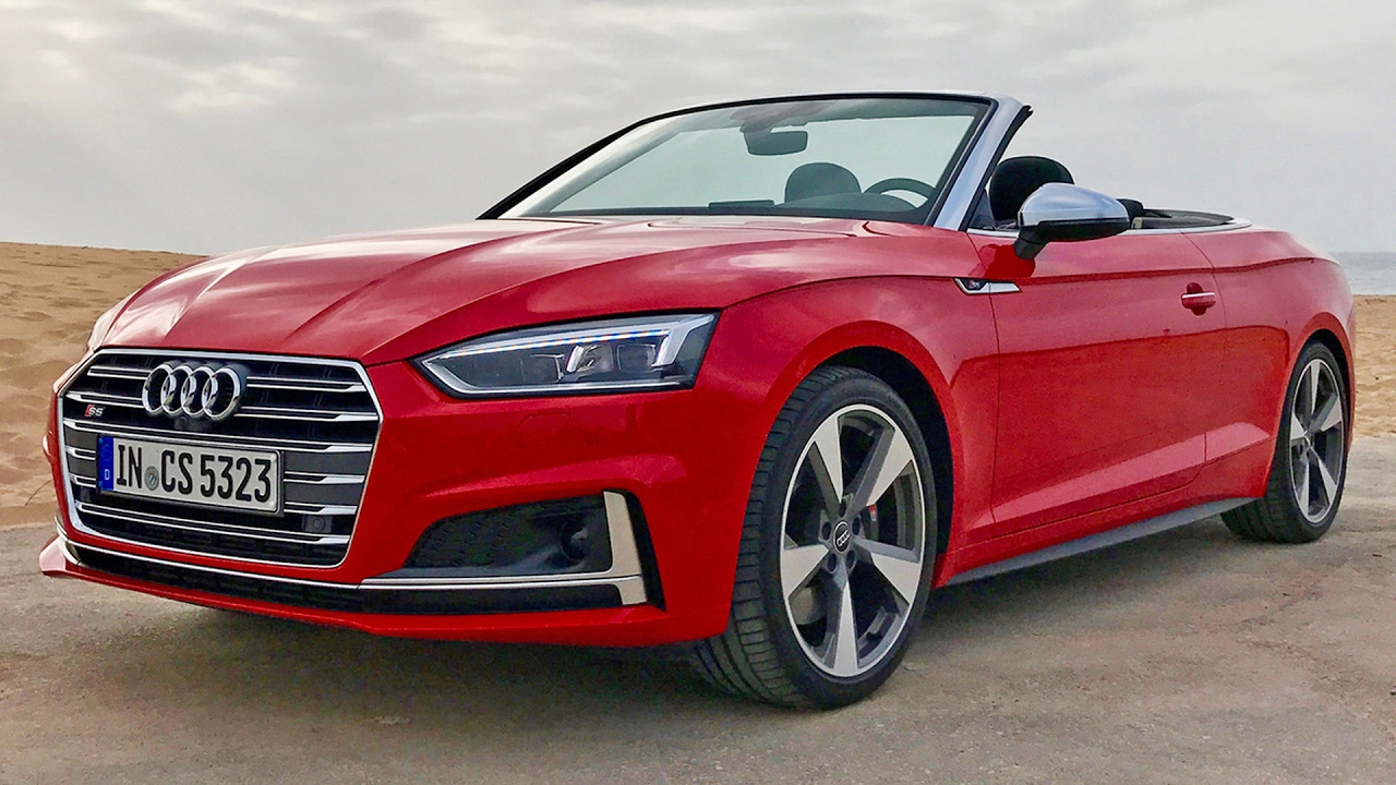 audi a5 cabrio audi s5 cabrio test fahrbericht 2017 youtube. Black Bedroom Furniture Sets. Home Design Ideas