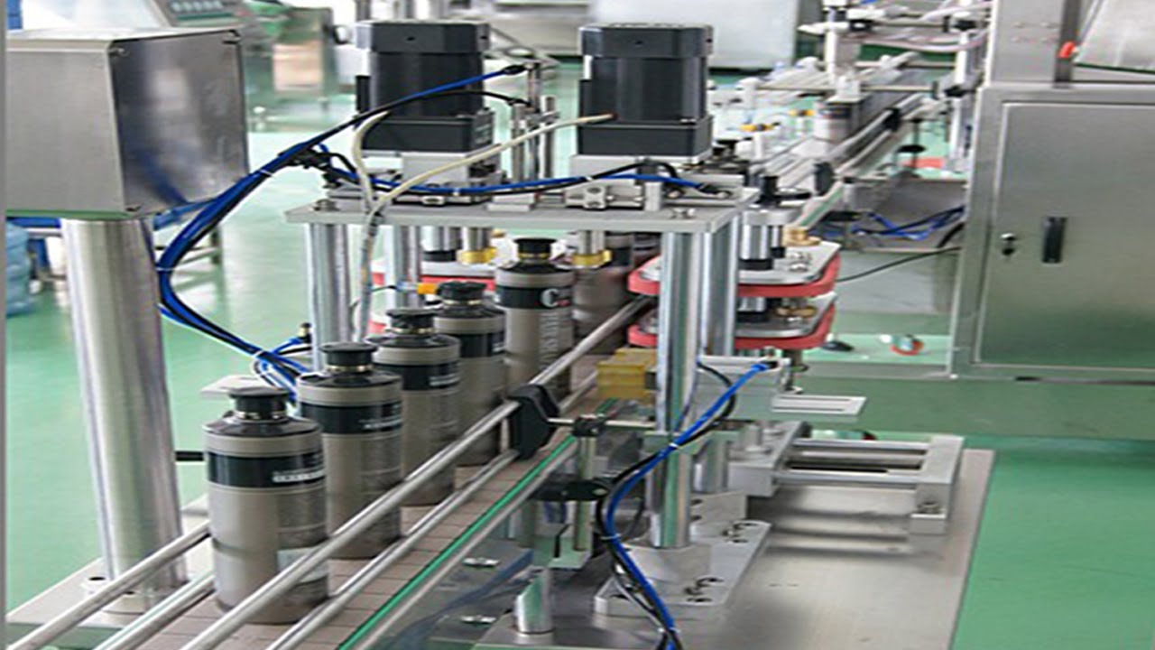 Pneumatic Desktop Capping Machine With Printing Function