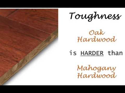 Mahogany Versus Oak Hardwood Los Angeles|213-984-4193
