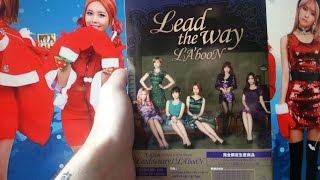 t ara lead the way la boon limited single japan cd 6dvd unboxing