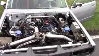 Datsun motor v8 biturbo