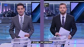 Troca de apresentadores - SBT Notícias (23/09/16)