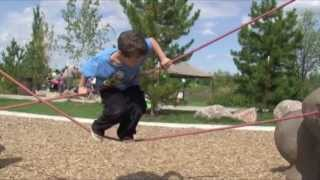 Rocks & Ropes nature-inspired playgrounds