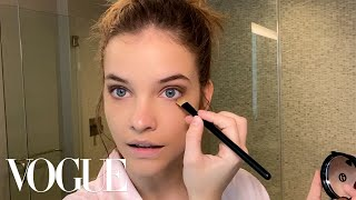 Barbara Palvin's Everyday Beauty Routine | Beauty Secrets | Vogue