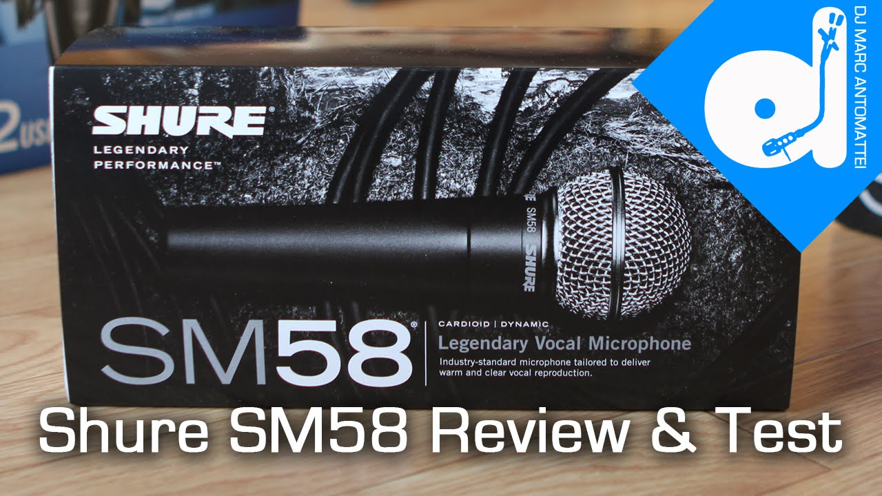 Shure SM58 Microphone Review & Test - TDMAS - YouTube
