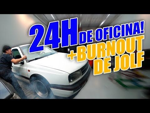 HONDA CIVIC TURBO COUPE e Burnout do Jolf de Aniversário (24 Horas Dentro da Oficina)