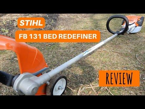STIHL FB131 BED REDEFINER!