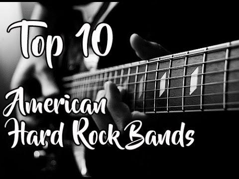 Top 10: American Hard Rock Bands