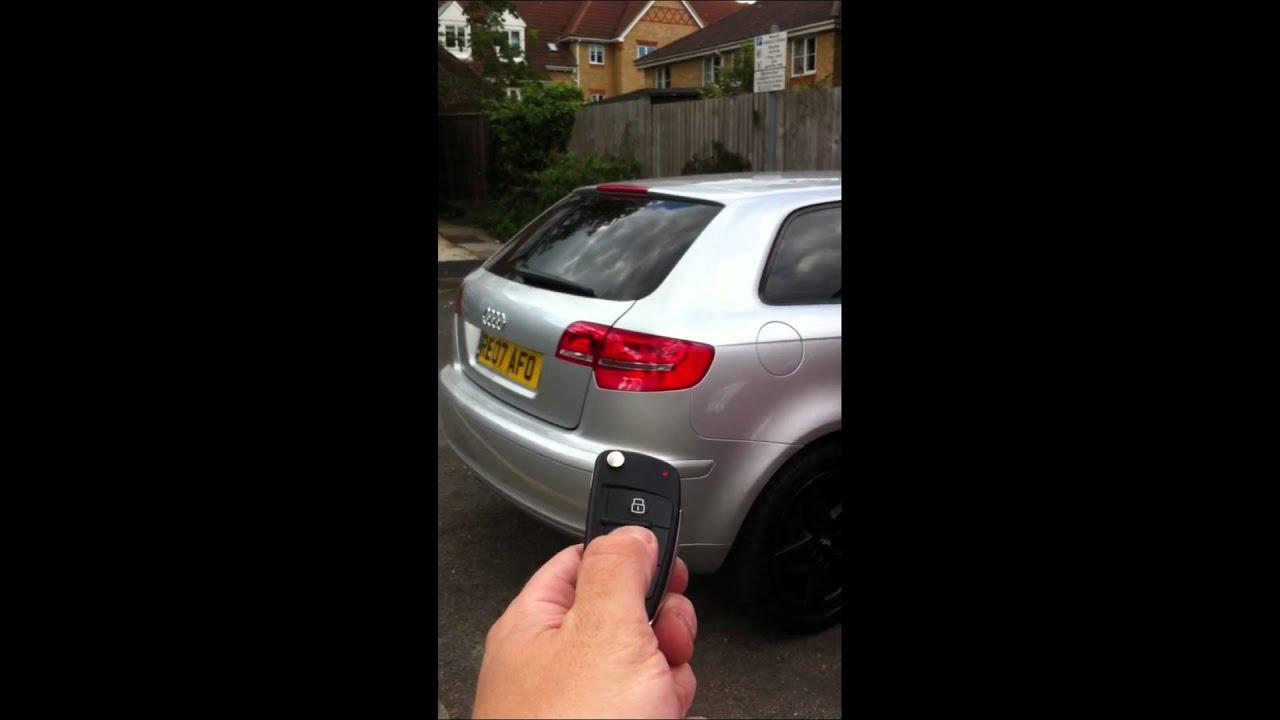 Audi A3 Automatycznie Otwieranie Bagażnika Sportback Youtube