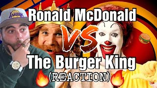 Ronald McDonald vs The Burger King. Epic Rap Battles of History   REACTION!!!