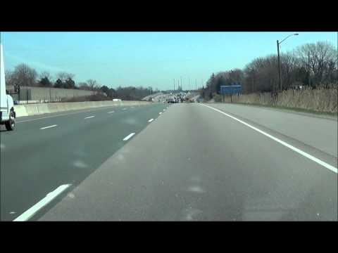 Driving from Grimsby, Ontario to Niagara Falls, Ontario