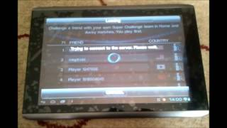 Playing Pes 2012 Android Online !