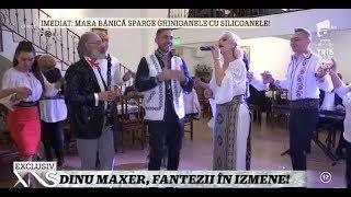 Dinu Maxer le-a impus invitaţilor să vină în costum popular la petrecerea de ziua lui