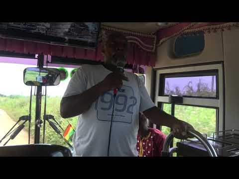 Drive by Garvey Town Community Land in Gomoa, Ghana - Nov 2018 Tour