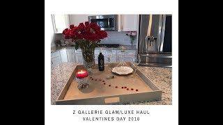 Z GALLERIE GLAM/LUXE HAUL 2018