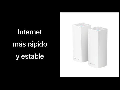¿Cómo mejorar la calidad y velocidad de Internet? | Review Linksys Velop